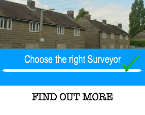 Choose the right surveyor